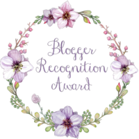 Blogger Recognition Award -Thankyou