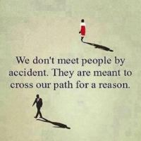 Crossed our paths