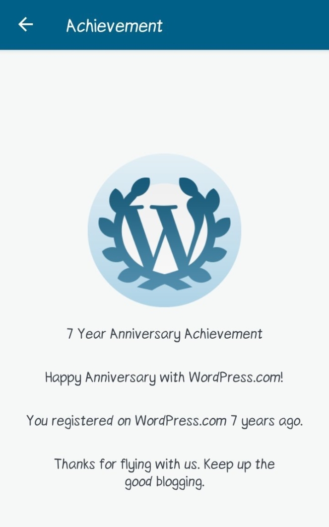 7th Anniversary with WordPress || WordPress Blog anniversay || Soulrecitals