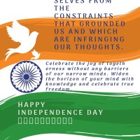 Happy Independence Day- Celebrate freedom in oneness